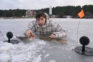 жерлицы на налима на озерах