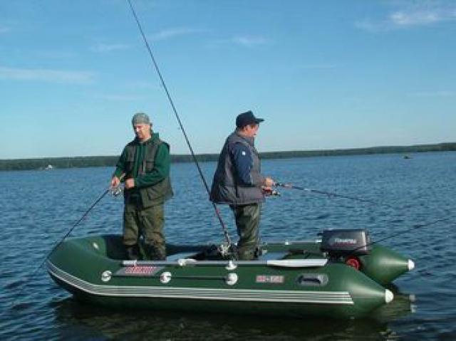 выбор лодки пвх для рыбалки и охоты